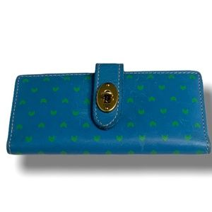 FOSSIL Blue Genuine Leather Women's Wallet